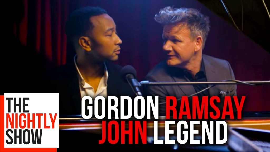 John Legend Hilariously Puts the Colorfully Critical Ravings of Chef Gordon Ramsay to Music
