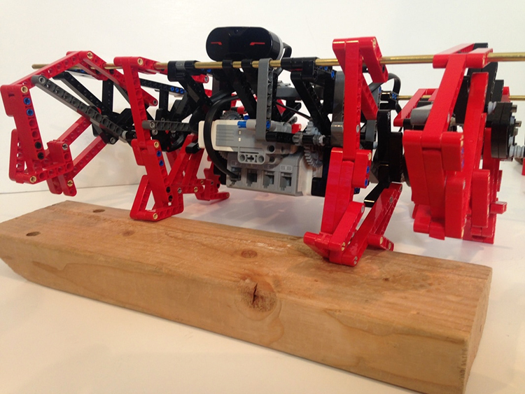 LEGO Mindstorms TrotBot With a Walking Mechanism Inspired by a Galloping Horse
