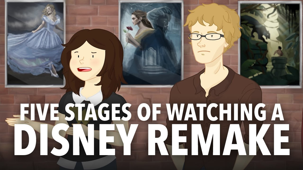 The Five Stages of Watching a Disney Movie Remake