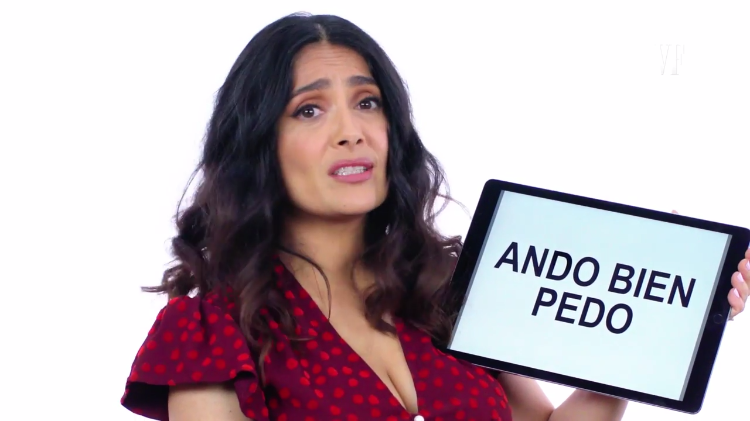 Salma Hayek Offers a Short Lesson on Mexican Slang Terms and Expressions