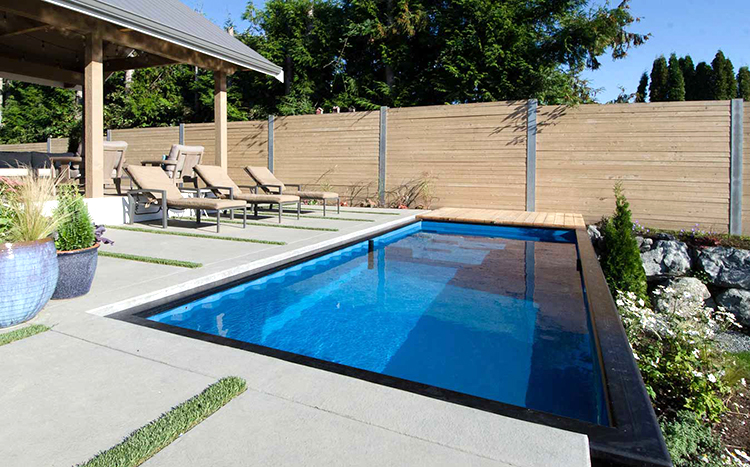 Modpools shipping container swimming pools - Swimming pool in a shipping container ...