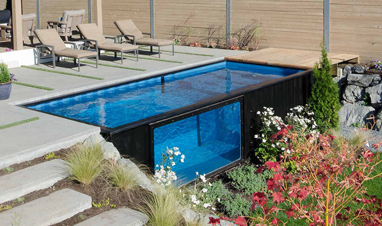 Modpools Shipping Container Swimming Pools