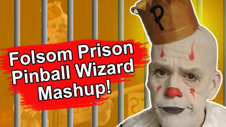Puddles Pity Party Performs a Mashup Cover of 'Folsom Prison Blues' and 'Pinball Wizard'