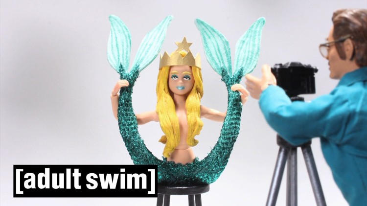 Robot Chicken Reveals How Starbucks Came Up With Their Iconic Twin-Tailed Mermaid Logo