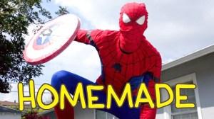 Spider Man Homecoming Homemade Shot for Shot