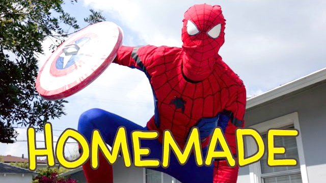 Spider Man Homecoming Homemade Shot for Shot