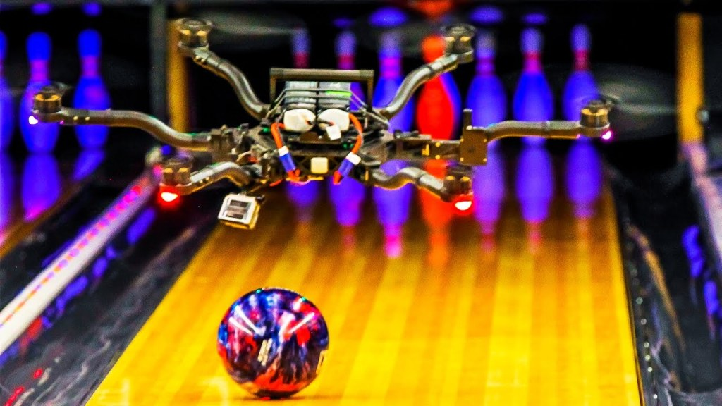 Unbelievable Trick Shots With Drones That Can Carry and Catch Balls