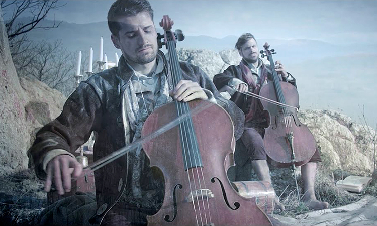 2CELLOS Perform The Lord of the Rings Song 'May It Be' With the London Symphony Orchestra