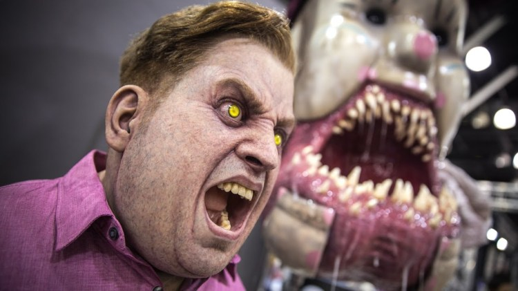 The Incredible Creature Sculptures and Masks of Special Effects Artist Patrick Magee