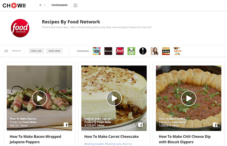Chowii a website and app that lets you to search for short food chowii forumfinder Images