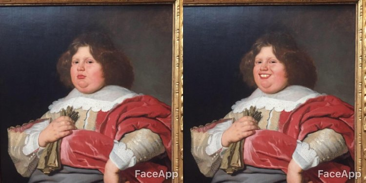 Designer Uses FaceApp to Add Smiles to Paintings and Sculptures at an Amsterdam Museum
