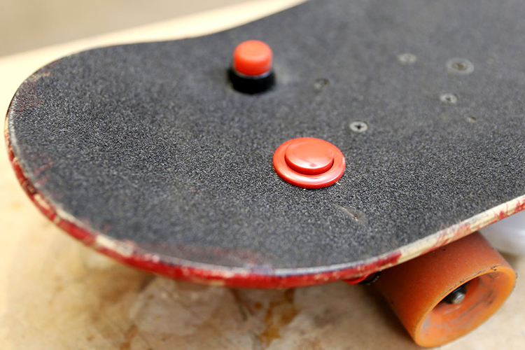 Flamethrower Skateboard