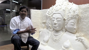 Largest margarine sculpture Guinness World Records