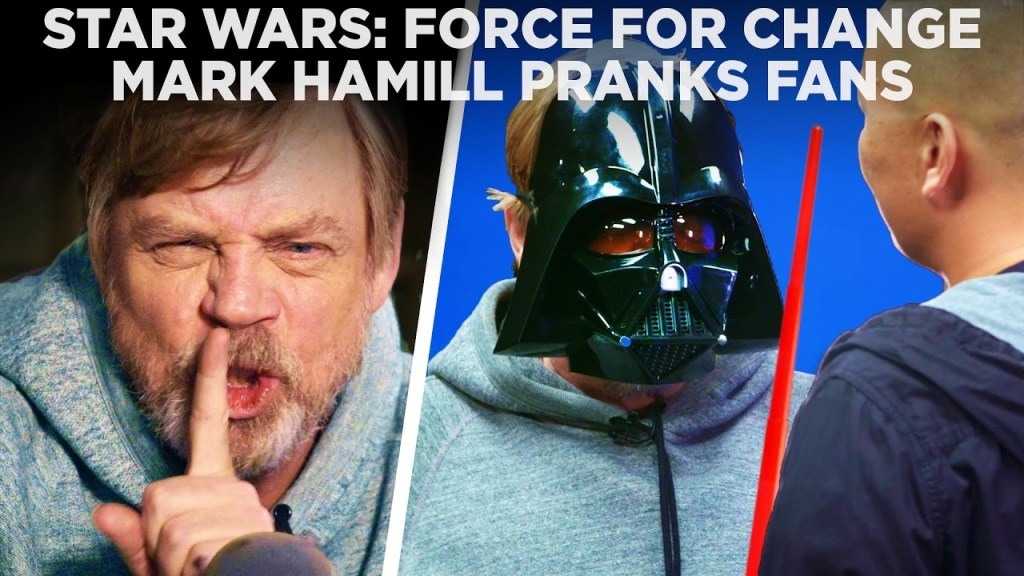 Mark Hamill Pranks Fans and Reveals Bonus Perks for Star Wars: Force for Change Charity Auction