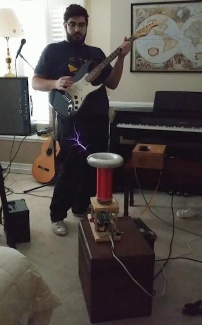 Tesla Coil Guitar