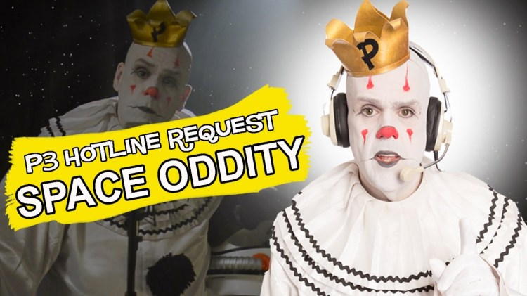 Puddles Pity Party Performs a Touching Cover of the Iconic David Bowie Anthem 'Space Oddity'