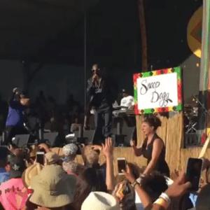 Snoop Dog Holly Manniaty Jazz Fest NOLA