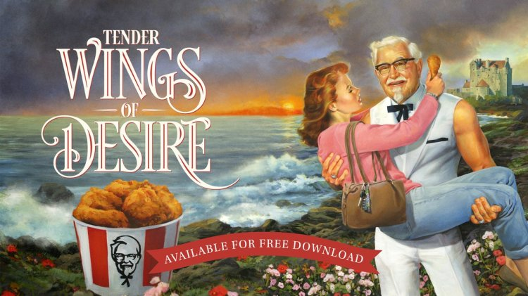 KFC Releases a Steamy Downloadable Romance Novel Featuring a Strapping Colonel Sanders