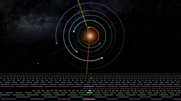 TRAPPIST Sounds, Music Created From Resonance Within the Trappist-1 Planetary System