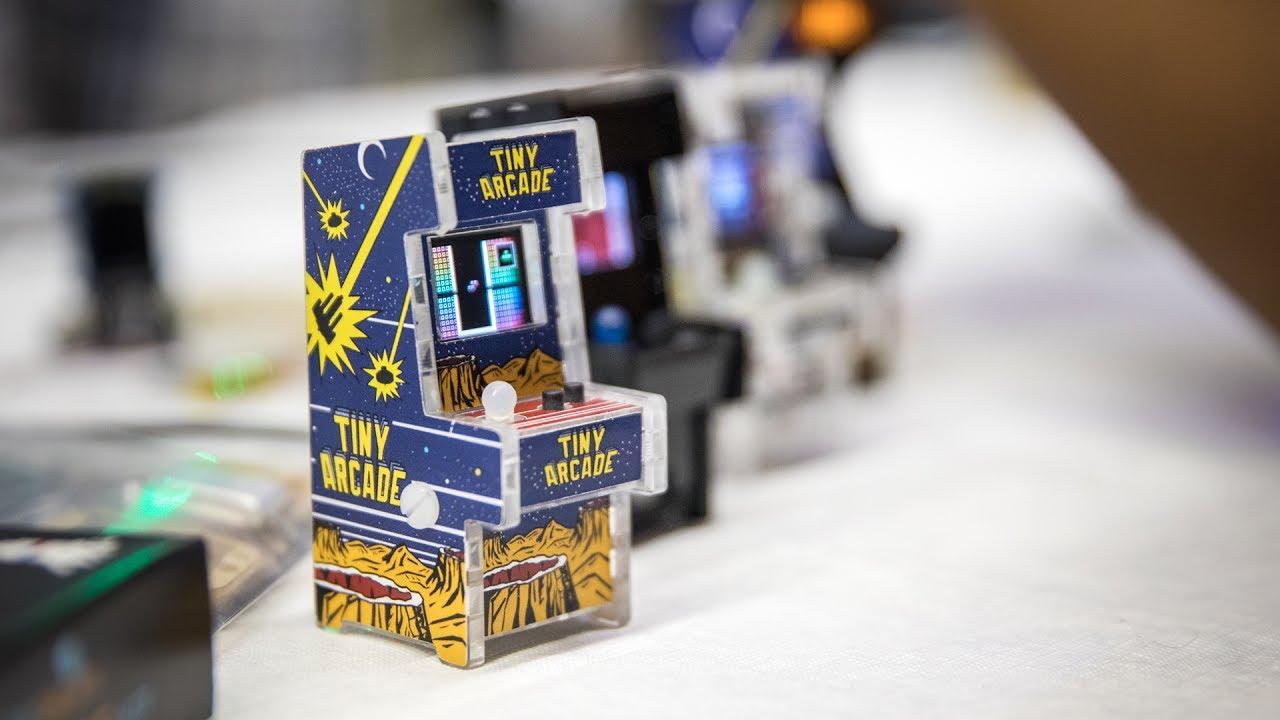 A Tiny Playable Arcade Cabinet Kit
