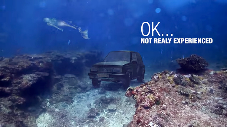 Visual Effects Artist Creates Hilarious, Over-the-Top Ad Trying to Sell His 1996 Suzuki Vitara SUV