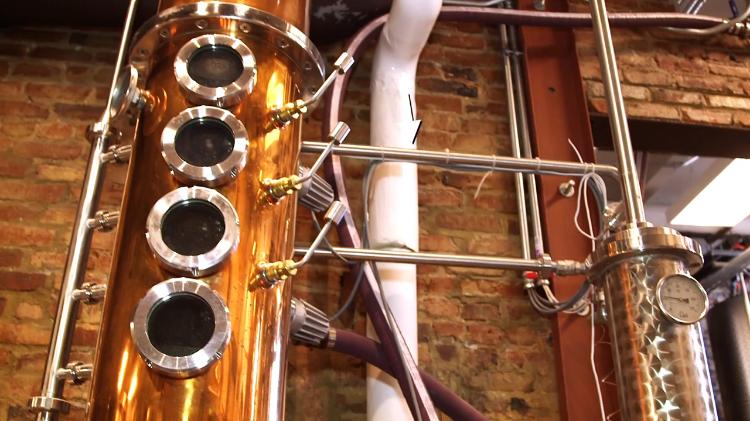 The Chemistry of Whiskey Distillation