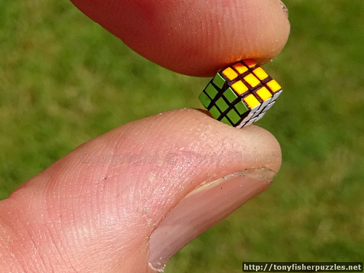 The World's Smallest Rubik's Cube Puzzle
