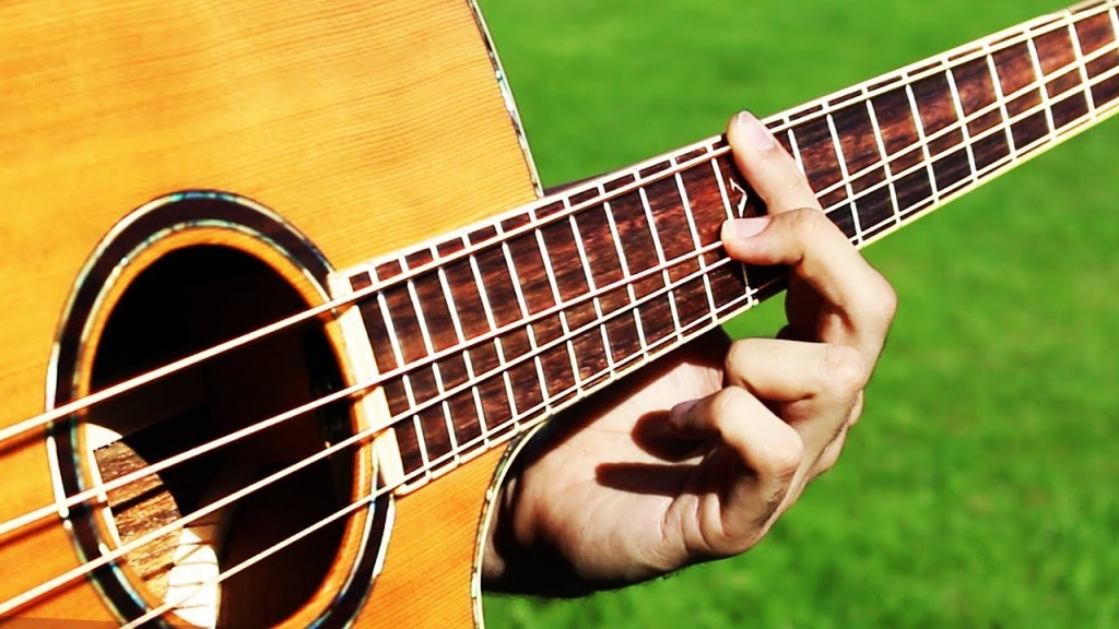 A Beautiful Cover of the Classic a-ha Song 'Take On Me' Played on an Acoustic Four String Bass