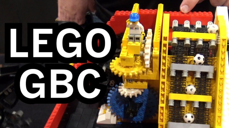 The World's Largest LEGO Great Ball Contraption, A LEGO Rube Goldberg Machine With 200+ Modules