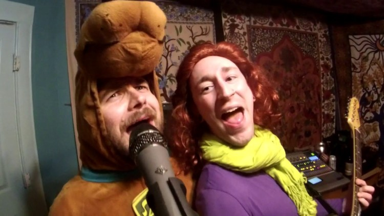 A Lively Ska Cover of the 'Scooby Doo, Where Are You!' Theme Performed In Series Character Costume