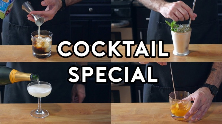 Binging With Babish Recreates His Favorite Cocktails From His Favorite Films