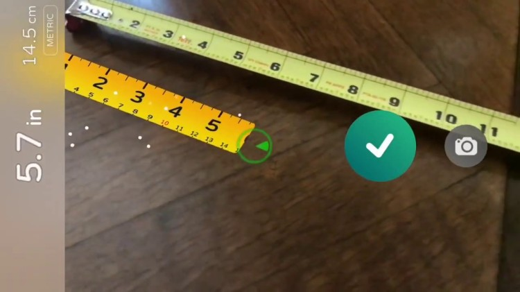 AR Measure, An Augmented Reality App That Turns Your Phone Into a Mobile Tape Measure