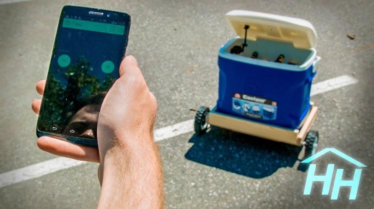 An Arduino Powered Autonomous Cooler That Follows You Wherever You Go