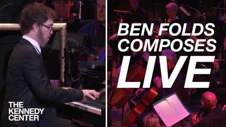 Ben Folds Composes a Live Orchestral Arrangement With Help From the Audience in Just Ten Minutes
