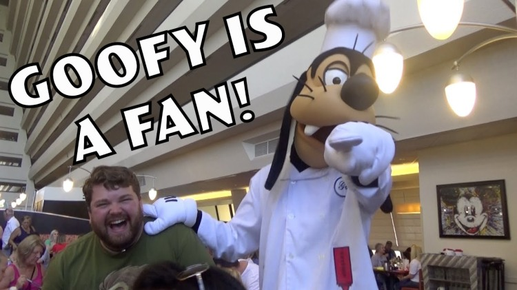Brian Hull Does Hilarious Impressions of Characters at Disney World While Getting Breakfast