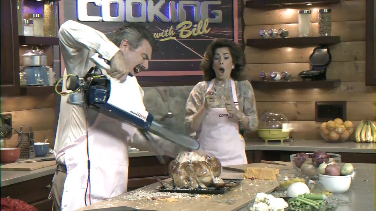 Cooking With Bill, A Horror Comedy Infomercial by Neill Blomkamp's Oats Studios