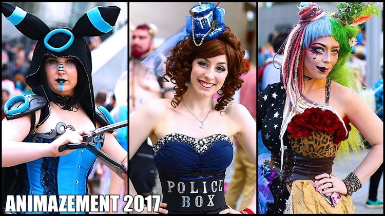 Cosplay at the Animazement 2017 Anime Convention in Raleigh, North Carolina