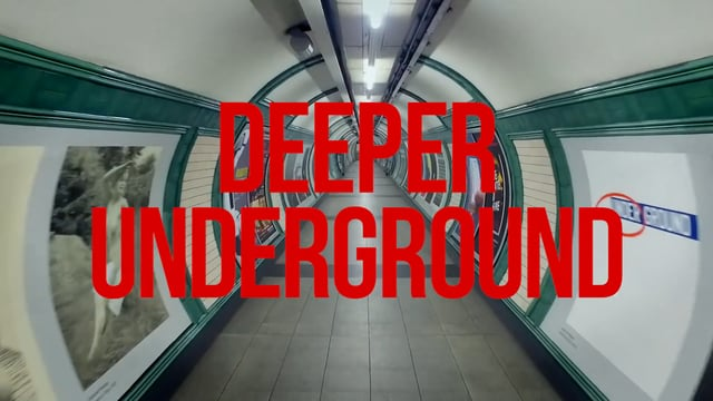 Deeper Underground, A Striking Film Showcasing the Distinctive Tunnels of the London Tube System