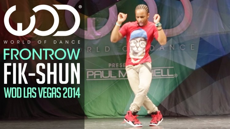 Fik-Shun Threw Down an Amazing Dance Routine at the 2014 World of Dance Competition in Las Vegas