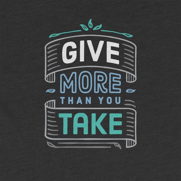 Greater Ink, Tee-Shirts With Inspirational Messages That Contribute to a Related Cause When Purchased
