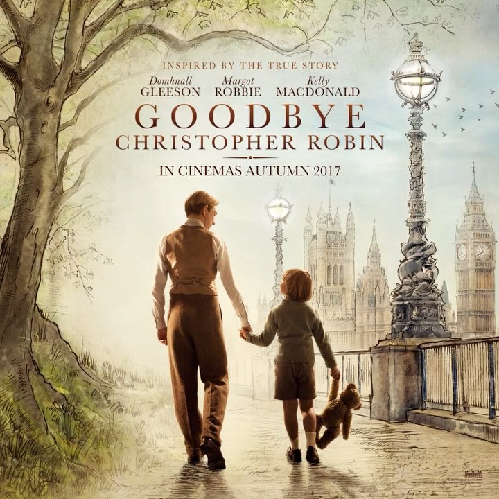 Goodbye Christopher Robin, A Touching Film About the Creator of Winnie the Pooh and His Beloved Son