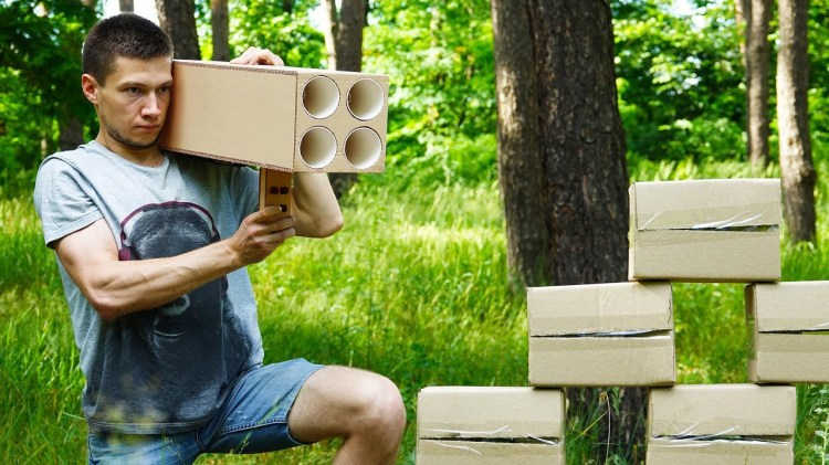 How to Make a Powerful Four-Barreled Rocket Launcher at Home