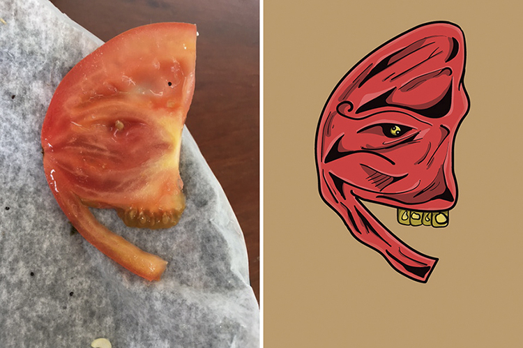 Artist Illustrates the Faces That He Sees in Inanimate Objects