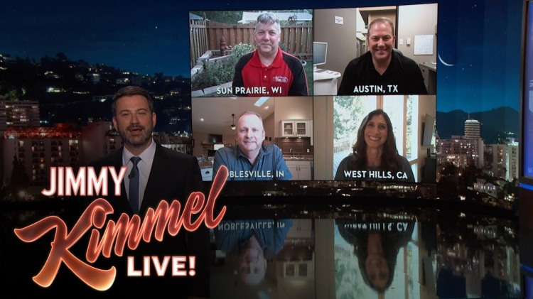 Jimmy Kimmel Talks to Four People Whose Names Perfectly Match Their Jobs