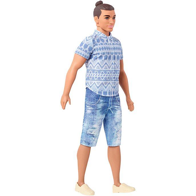 Man Bun Ken in Shorts