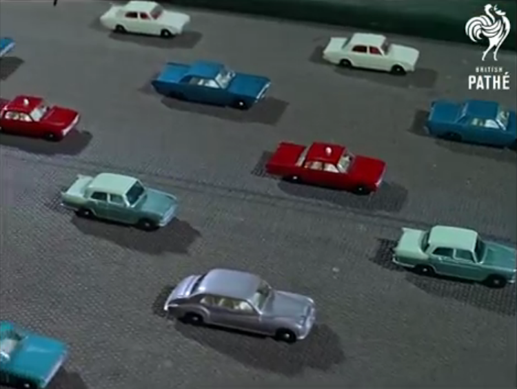 A Look at How Matchbox Cars Were Made in 1965