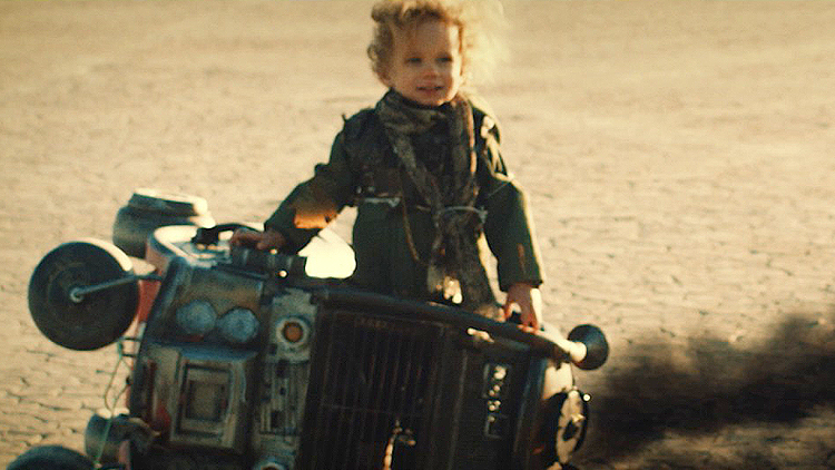 A Little Girl Races and Battles Throughout the Desert Wasteland to Save Her Family in 'Mad Max Junior'
