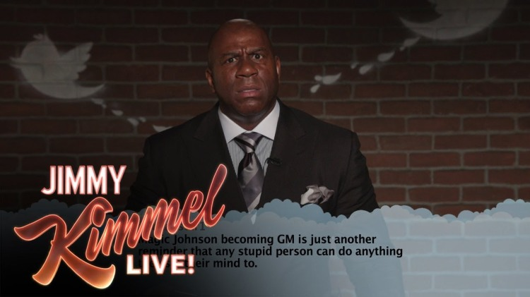 NBA Basketball Players Read Mean Tweets About Themselves on Jimmy Kimmel Live