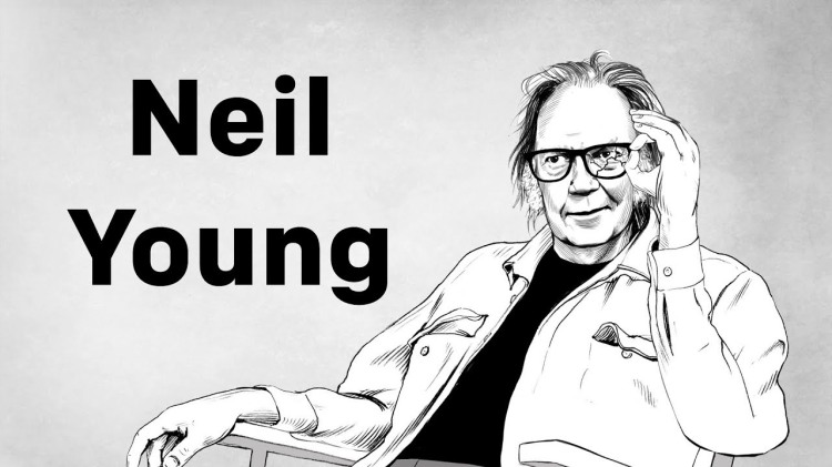 Neil Young Opens Up About His Pagan Beliefs In an Animated Lost Interview From 2006