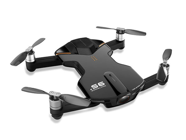 A Compact Wingsland S6 Pocket Drone That Produces Incredible 4K HD Views